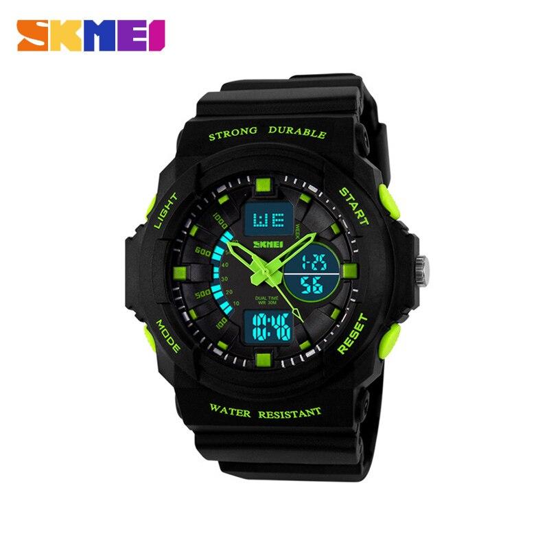 Azul del reloj SKMEI relojes para niños niño superior reloj deporte relojes para niños Chrono resistente al agua Digital de moda al aire libre nuevo 1061