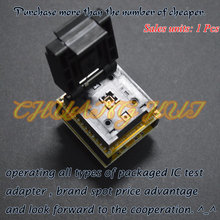 IC TEST Detect QFN24 to DIP24 DFN24 WSON24 MLF24 programmer adapter ic test socket Size=4mmX4mm Pitch=0.5mm