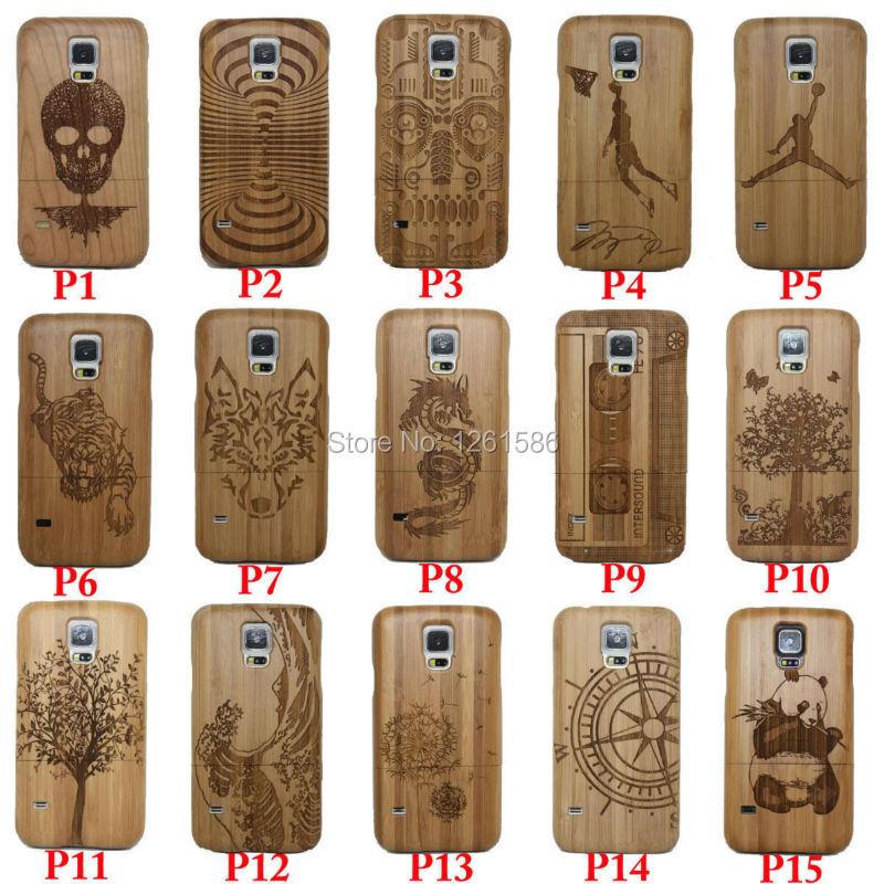 Natürlicher Bambus HINWEIS Laser Capa Holz Multi Hüllen - Handy-Zubehör und Ersatzteile