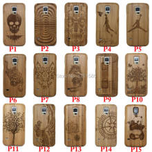 Natural Bamboo NOTE Laser Capa Wood Multi Cases Phone Cover For Samsung Galaxy S8 S7 S6 Edge PLUS S5 Neo S4 MINI Note 8/phone 6(China)