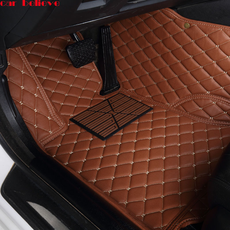 Car Believe Auto car floor Foot mat For chevrolet sonic epica aveo sail captiva 2008 car accessories waterproof carpet rugs