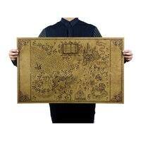 Carte du monde magique de Harry Potter 1