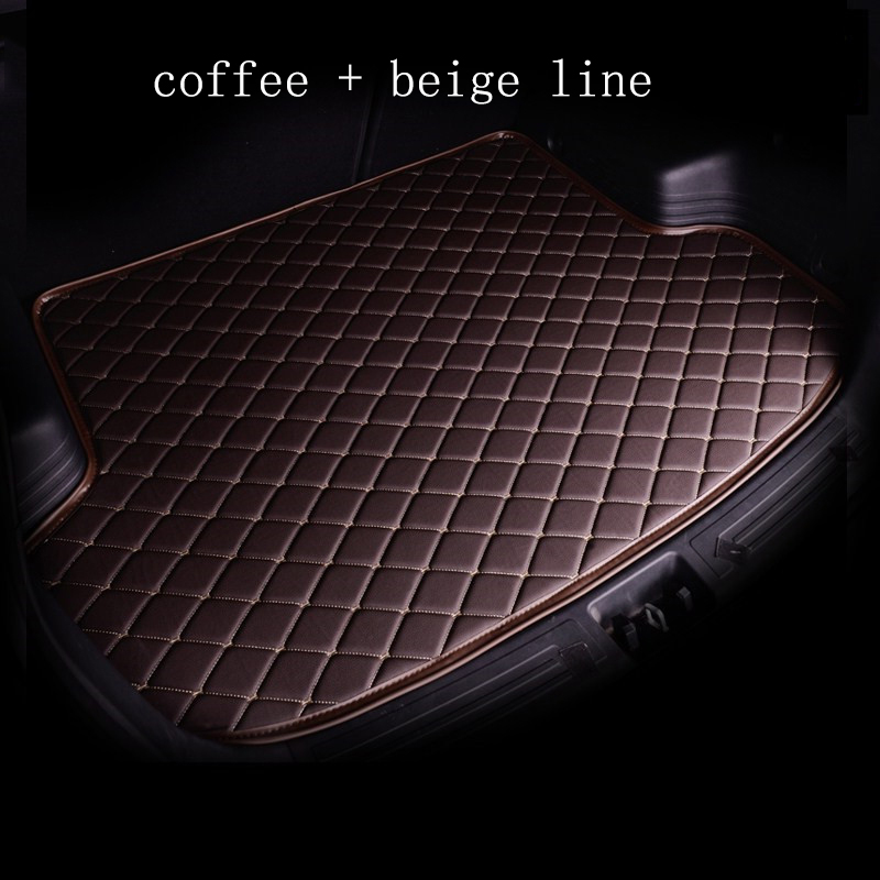 kalaisike custom car mat trunk for BMW all medels X3 X1 X4 X5 X6 Z4 525 520 f30 f10 e46 e90 car styling custom car cargo liner car believe custom car trunk mat for peugeot 5008 508 206 4008 306 307 308 207 cargo liner interior accessories car styling