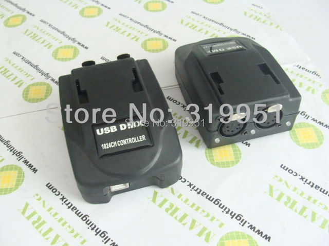 USB DMX512 controller console for DMX LED LightMartin App