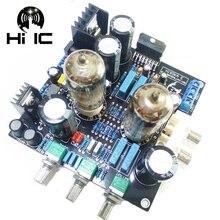 مضخم صوت 6N3 Drive TDA7379 مُضخّم صوت ستيريو HiFi Amp مكبر صوت مسبق 38 واط + 38 واط تيار مستمر 12 فولت