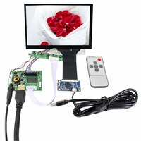 Hdmi + placa de controlador de áudio lcd 7 polegada 1280x800 N070ICG-LD1 painel de toque capacitivo