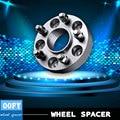 Car aluminum Wheel Spacer Wheel adapter hub wheel flange 5-114.3 50mm for Mitsubishi L300 400  Lancer EVO  Outlander Space Wagon