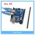 Высокое качество ООН R3 MEGA328P CH340G CH340 для Arduino UNO R3 + кабель USB