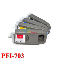 PFI 703 Replacement Compatible Ink Cartridge For Canon IPF825 IPF815 Printers Cartridge 700ml With Chip 5