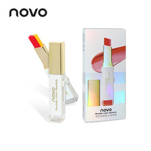 NOVO Lipstick Lip Makeup Double Color makeup Three-dimension