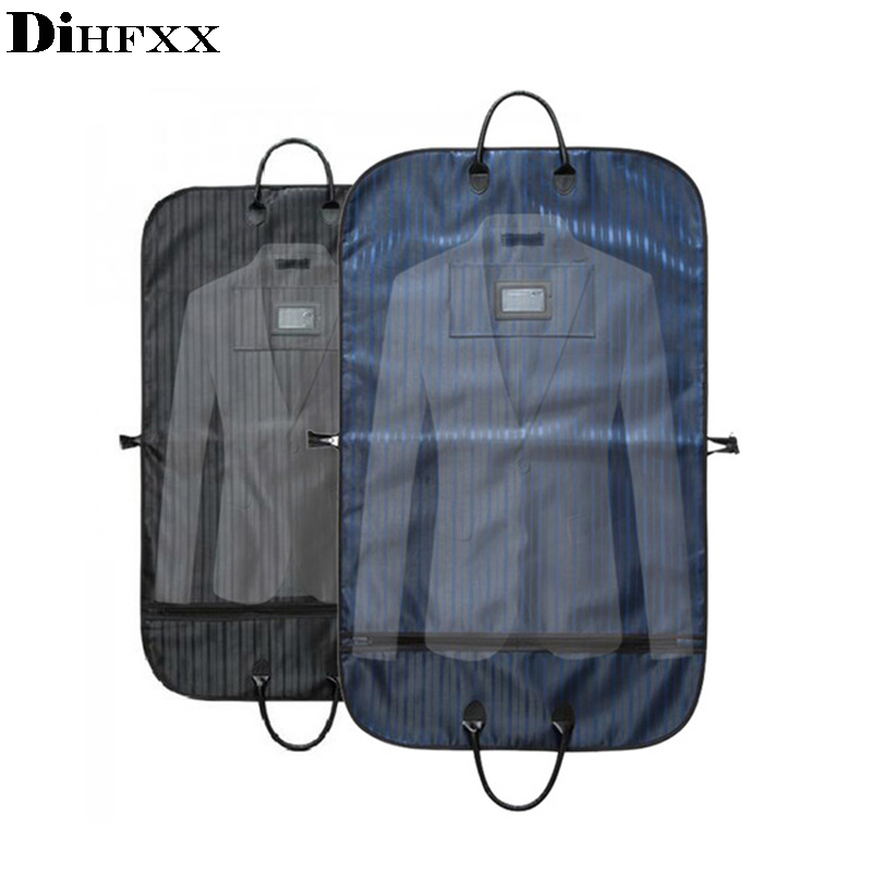 Men Suit Travel Bag Dustproof Hanger Organizer Journey Coat Clothes Garment Cover Case Travel Accessories Supplies DX-16