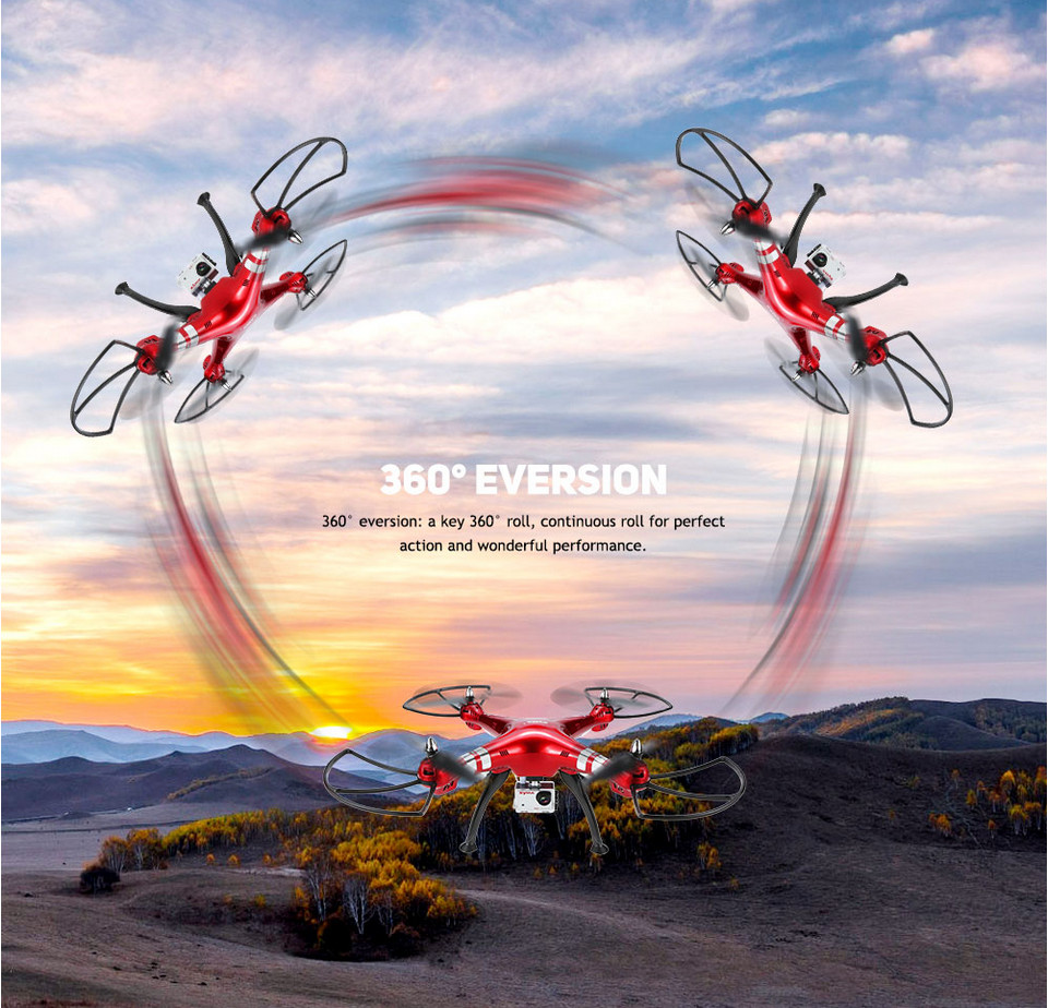 NEW Arrival Syma X8HG RC Drone Quadcopter With 8.0MP HD Camera High Headless Mode Automatic Air Pressure 2.4G 4CH 6 Axis Gyro цена