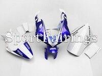 Complete Fairings For Yamaha YZF1000 YZF R1 09 10 11 2009 2011 Fiberglass Pieces Motorcycle Fairing Kit Bodywork White Blue PB