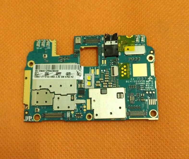 Original mainboard 3G RAM 16G ROM Motherboard for Doogee F5 4G LTE 5 5inch MTK6753 Octa