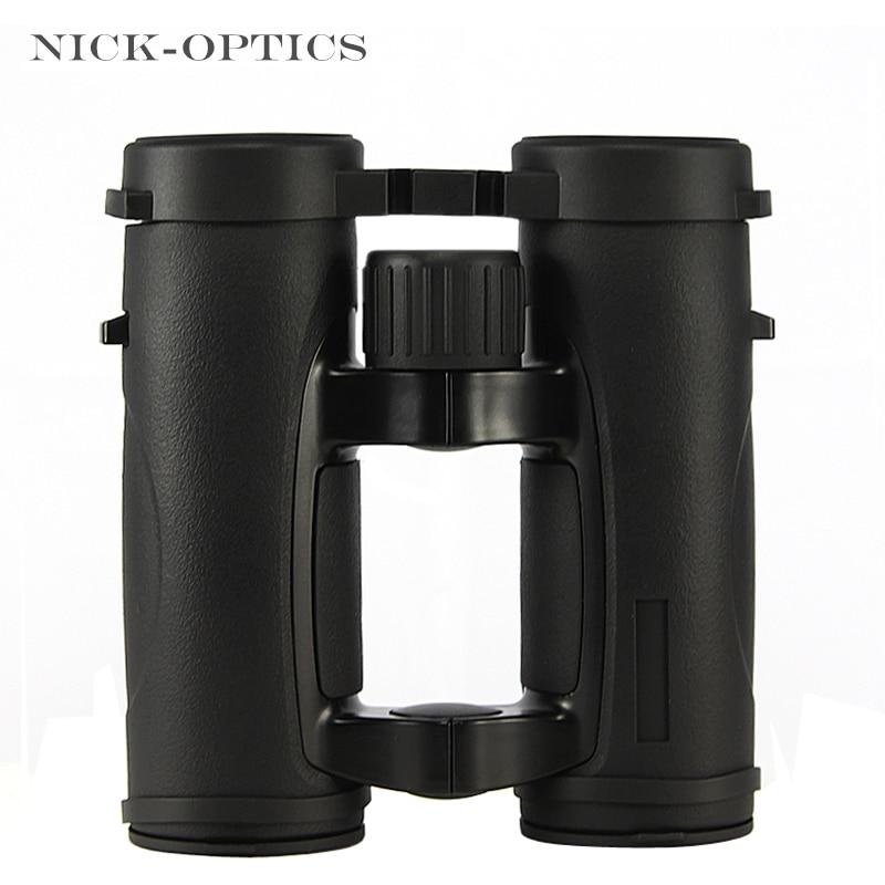 2019 New 10x32 HD Binoculars Professional handheld long range Telescope Portable binocular for Camping Hunting Lll night vision Бинокль