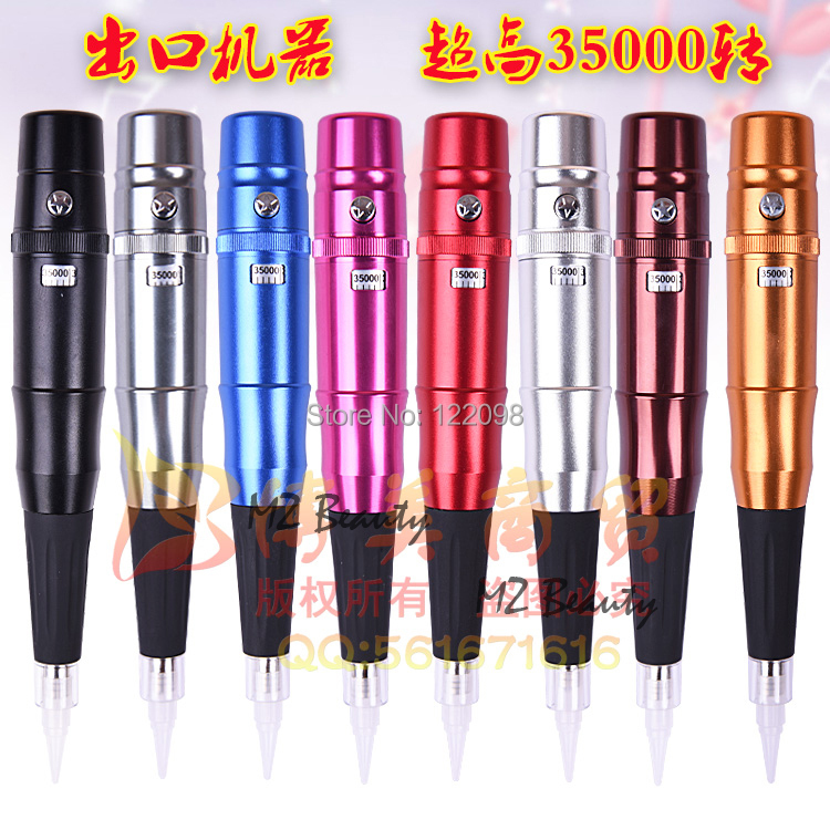 1pc Hight Quality Eyebrow Pen Permanent Makeup Machine single tattoo machine  Free shipping 15pcs red professional handmade permanent makeup tattoo manual pen machine for eyebrow 50pcs blade 12 free shipping