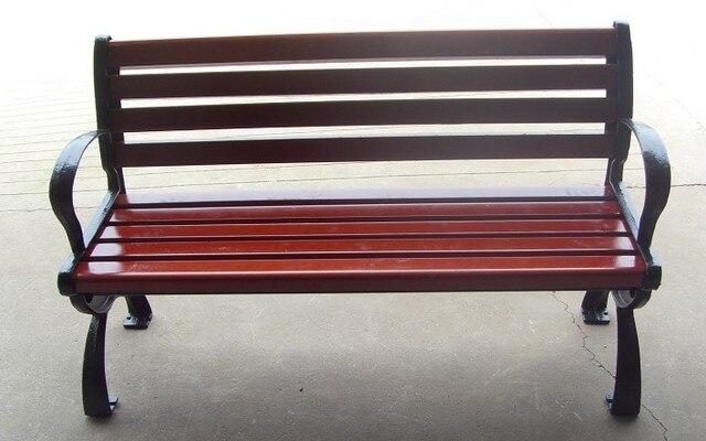 Directo de fábrica de sillas de hierro fundido banco de parque ...