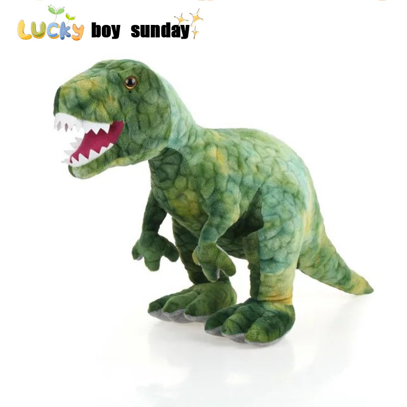 Dinosaur Plush Toy Simulation Dinosaurus Speelgoed Trex Doll Action Figure Animal Children's Toys Birthday Gift For Boy plush dinosaur doll child toys magic dragon simulation stuffed animal toy dolls stores