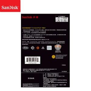 Image 5 - 100% Sandisk Extreme Pro CF Card 64 GB 32 GB 128 GB cartão de Memória Compactflash De 256 GB até 160 mb Ler para ricos 4 K e vídeo Full HD