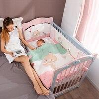 От 0 до 6 лет Дельфин Тип Симпатичные новорожденных детские кроватки Multi Функция Гнездо Спальный кровать малыша детской люльки для взрослых