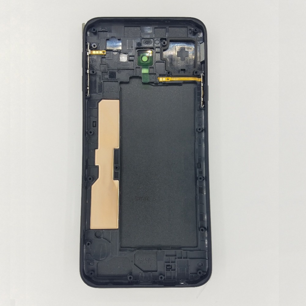 For Samsung Galaxy J4 Core SM-J410F J410F J410 Phone New Chassis Housing Middle Frame With Rear Battery Door Back Panel Lid