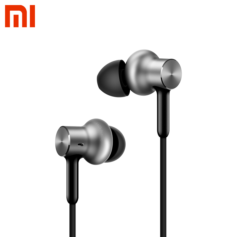 Original Xiaomi Hybrid Pro HD Headphones/Hybrid Earphones Triple with Microphone For Mobile Phone Xiaomi Huawei Android Phones original xiaomi pro hd in ear hybrid earphones