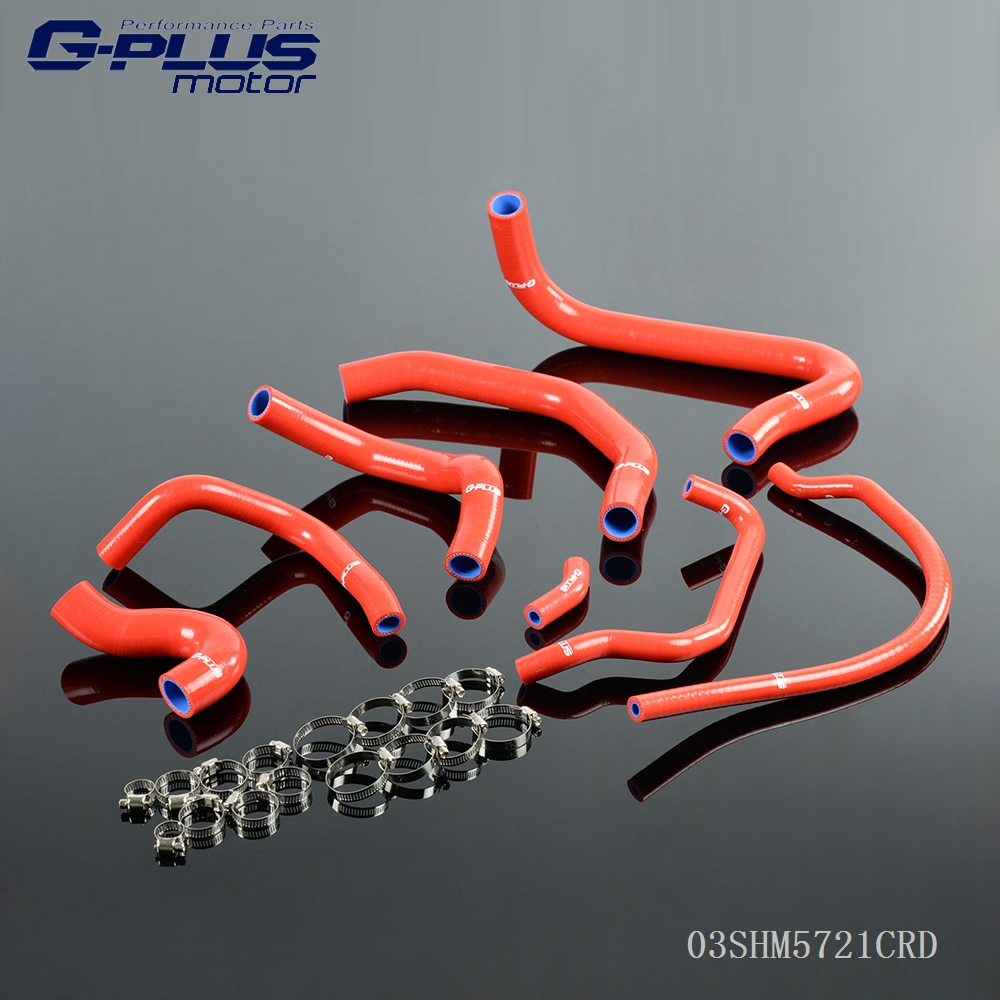 Silicone Radiator Hose Kit For HONDA CBR 900 RR FIREBLADE 1998 1999