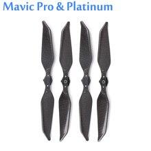 2 пары полностью из углеродного волокна 8331F пропеллер складной шумо-винты сокращения для Mavic Pro и платиновые аксессуары