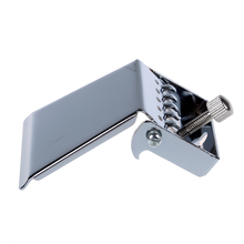 Banjo Tailpiece for 5 String Nickel Chrome Plate Silver