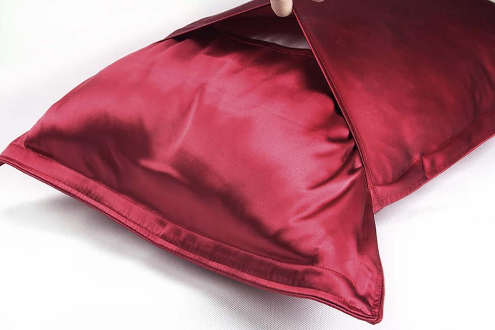 Zijde Oxford kussensloop 1 st 100% 19mm beide zijden zijden - Thuis textiel - Foto 5