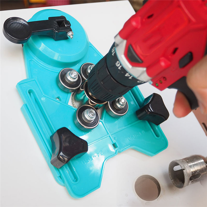Tile Punch Locator 4-80MM Glass Marble Perforated Hole Fixer Rubber Suction Cup Tile Locator Perforated Hole Tool Tile Punch Locator 4-80MM Glass Marble Perforated Hole Fixer Rubber Suction Cup Tile Locator Perforated Hole Tool