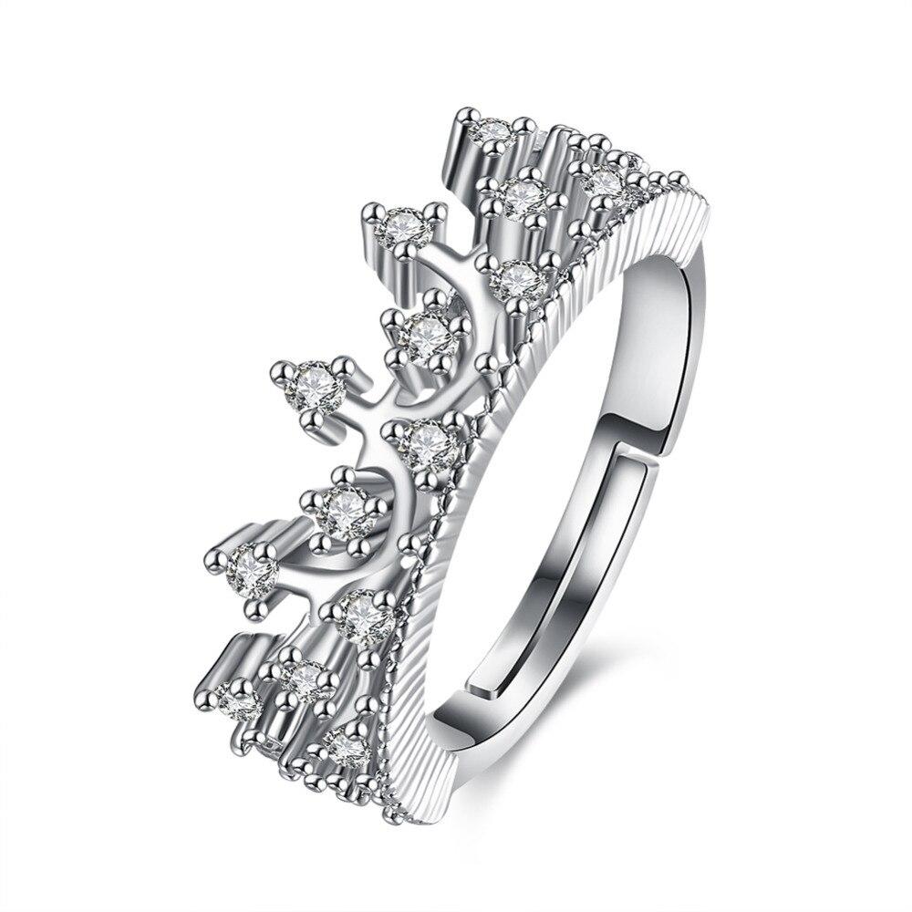 blue nile studio petite crown solitaire plus engagement ring crown wedding rings Blue Nile Studio French Pav Diamond Crown Solitaire Engagement Ring in Platinum 1 6 ct tw