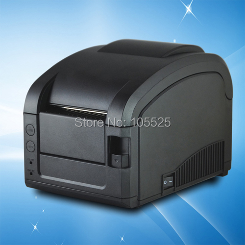 USB label printer GP3120TL thermal print WinXP/7/8 and linux