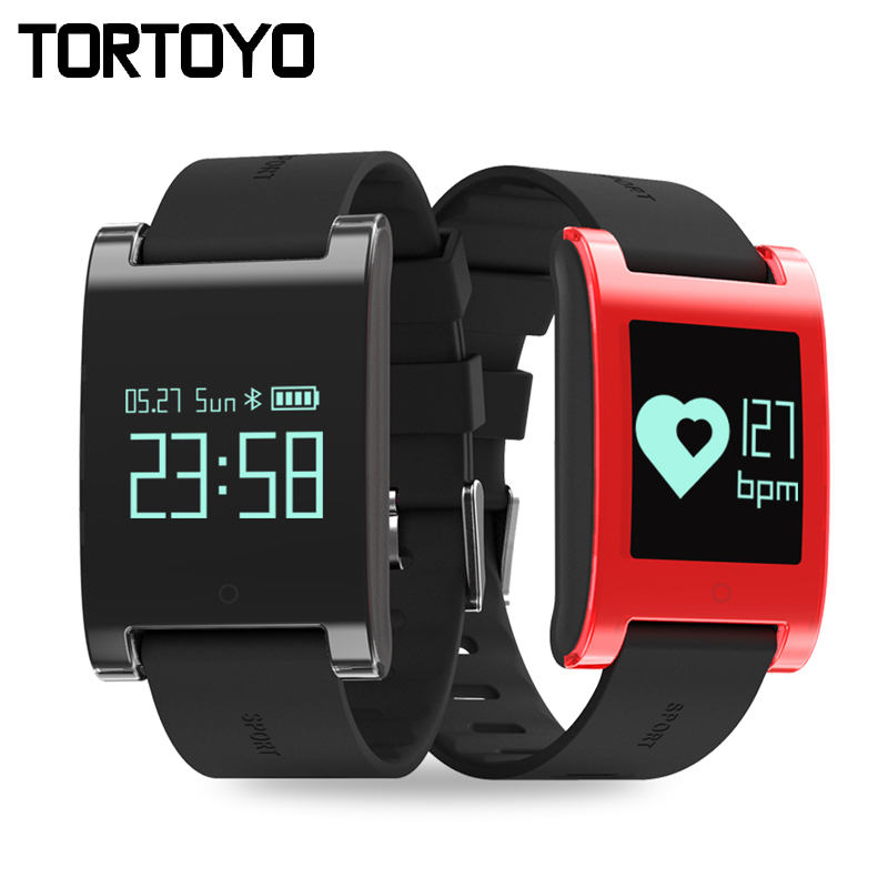 Smart Bracelet DM68 Touch Screen Smartband IP67 Waterproof Sleep Heart Rate Monitor Pedometer Sports Wristband For