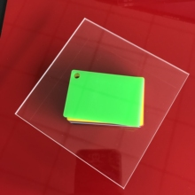 300x300x6mm 2 pieces crystal clear transparent acrylic sheet plaque