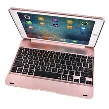 새로운 슬림 블루투스 ipad 공기 2/ipad 6 키보드 케이스 무선 전체 보호 abs 커버 애플 ipad 공기 2 키보드 커버