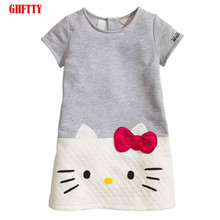 HOT Sale GHFTTY Baby Girls Dresses Summer 2019 Children Dresses For Girls Princess Dress Christmas kids