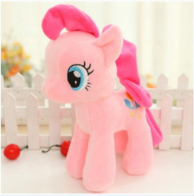 Plush Animal Unicorn Horse Stuffed Animals Toys Baby Infant Girls Toys Birthday Gift Rainbow licorne6