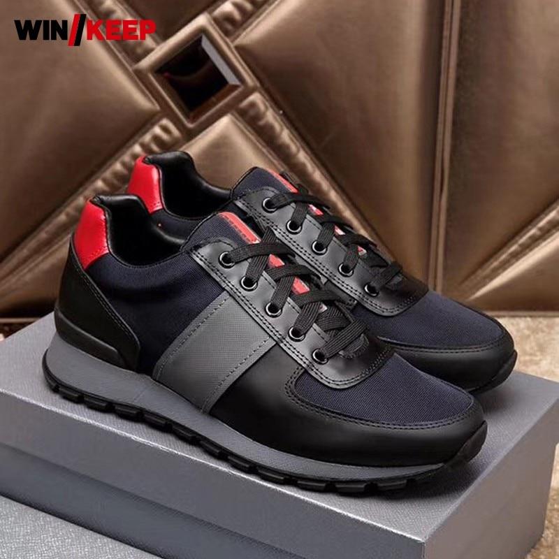 Nouvelles chaussures de course pour hommes baskets Sport en plein air chaussures d'athlétisme respirantes confortables Jogging Zapatillas Hombre Deportiva