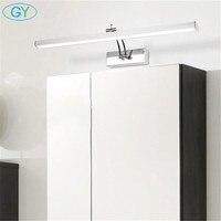 Modern L40cm L50cm L60cm L70cm LED cabinet mirror light, Adjustable espejo de maquillaje con luz,toaletka z lustrem cabinet lamp
