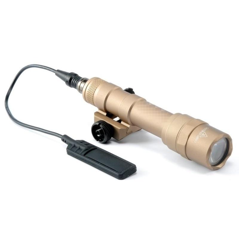 cqc airsoft tactical m600b mini olheiro luz led 04