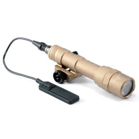 cqc airsoft tactical m600b mini olheiro luz led