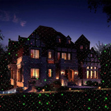 Waterproof led laser light Christmas Lawn Light Sky Star Projector Landscape Stage Spotlight Park Garden Xmas Decoration