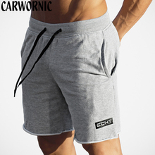 CARWORNIC Fitness Fashion Mens Casual Shorts Quick Drying Workout Gyms Jogging Exercise Men With Pocket