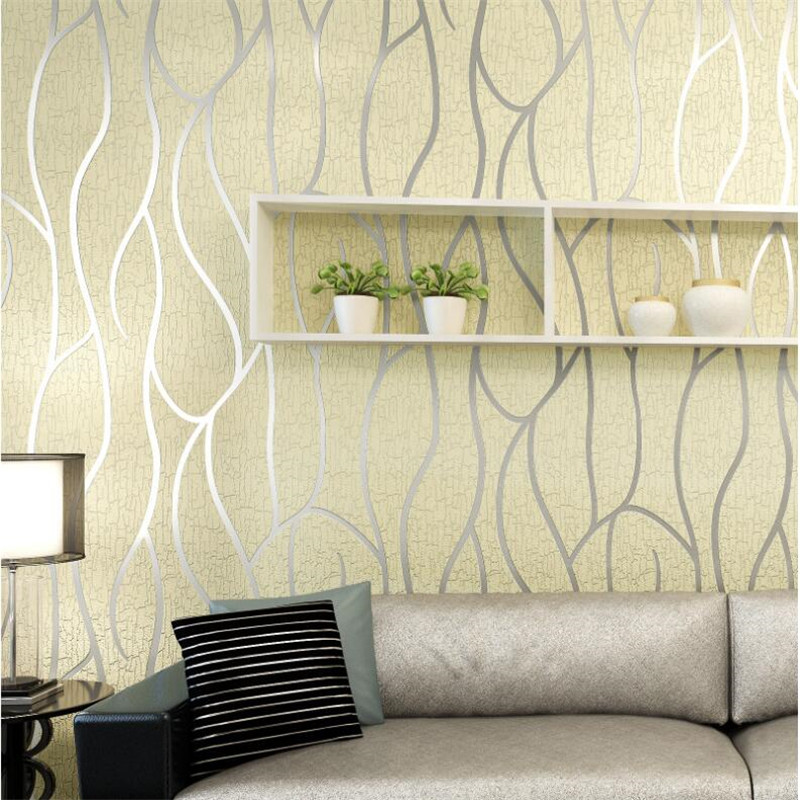 3D Stereo Wallpapers Modern Simple Living Room TV Backdrops Thicker Deer Skin Stripes Fashion Wallpapers Roll Home Decor beibehang modern luxury circle design wallpaper 3d stereoscopic mural wallpapers non woven home decor wallpapers flocking wa
