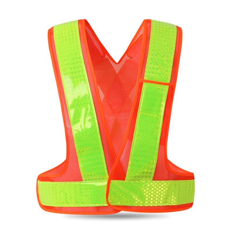 Discreet Lk-106 Reflective Vest Elastic And Adjustable Reflective Hook&loop For Running Walking Jogging Cycling Motorcycle Construction Bright In Colour Tank Tops Men's Clothing