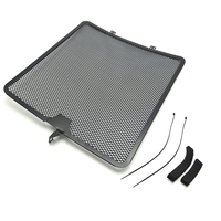 2008 14 ZX 10R Aluminum Radiator Guard Grille for Kawasaki ZX 10R 2008 2009 2010 2011 2012 2013 2014 ZX10R Oil Cooler Protector
