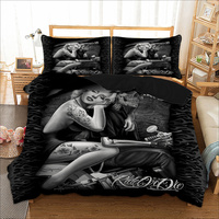 Marilyn Monroe Bedding Set 3D Duvet Cover Pillow Cases Twin Full Queen King UK Double AU Single Size Skull Bed Linens 3pcs