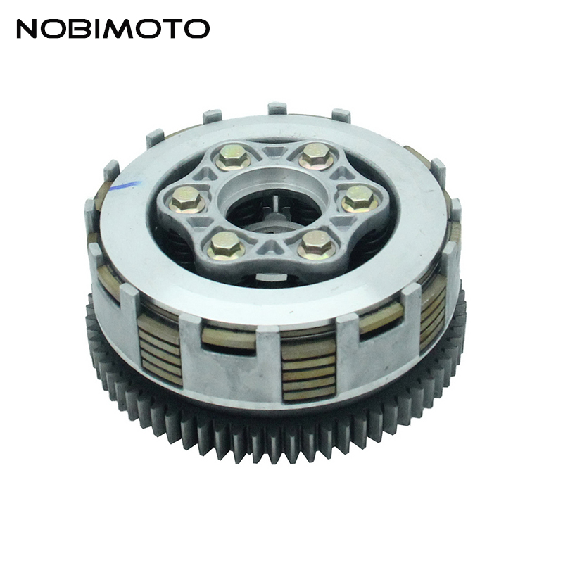 купить 70 Teeth Clutch Engine 6 Slices Thick Gear Clutch CG/CB200 Fit For ZS LC LF CG200 Water-cooled Engine Off Road Motocross LH-112 по цене 3264.56 рублей