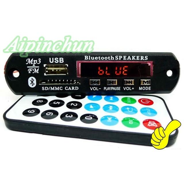 Aipinchun 5v 12v bluetooth mp3 decoding board sd card slot module aipinchun 5v 12v bluetooth mp3 decoding board sd card slot module support flacwav publicscrutiny Images